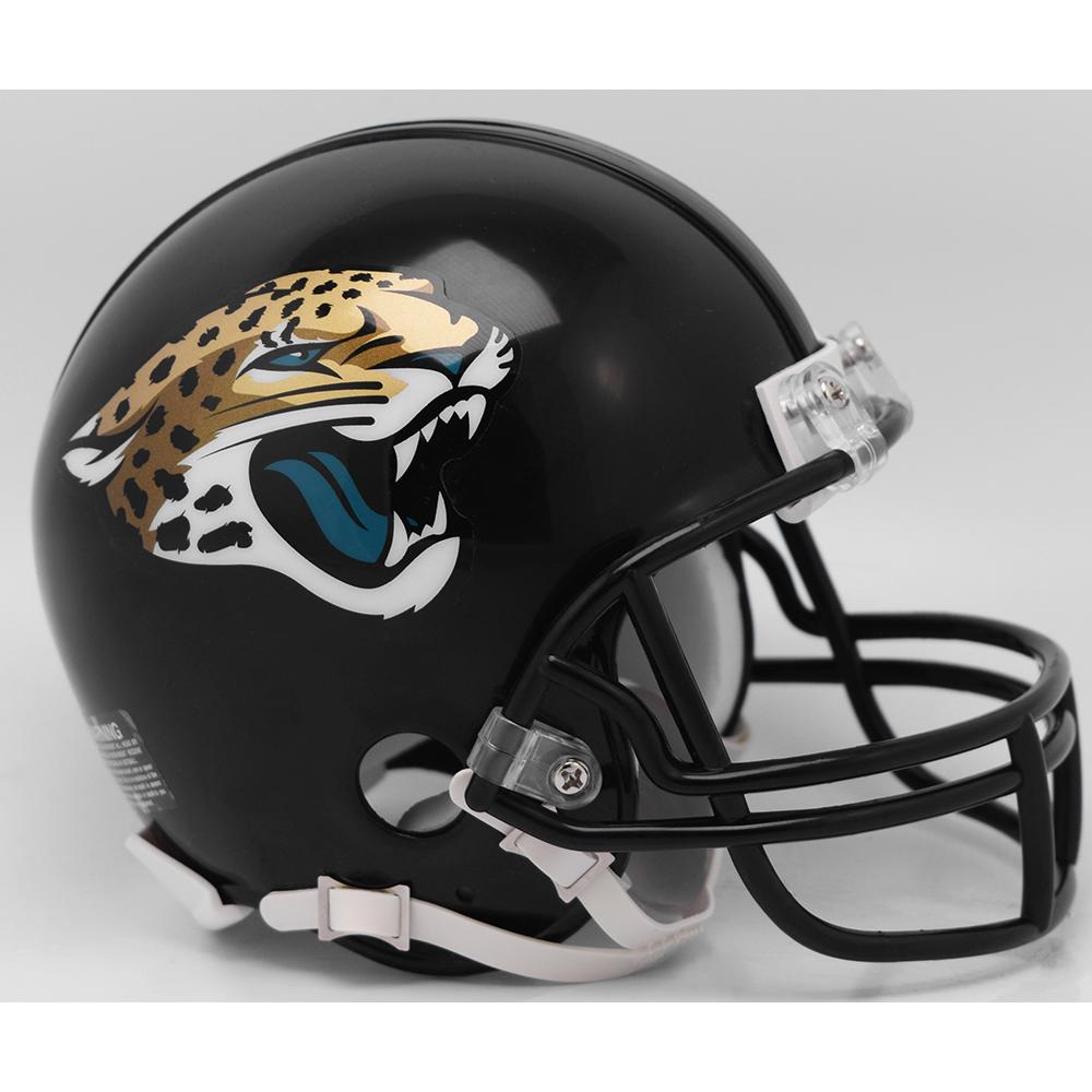 d78dcc23 Riddell NFL Jacksonville Jaguars 2018 Replica Vsr4 Mini Football Helmet