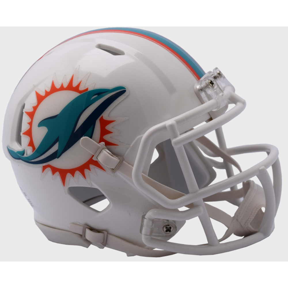 Riddell NFL Miami Dolphins 2018 Speed Mini Football Helmet