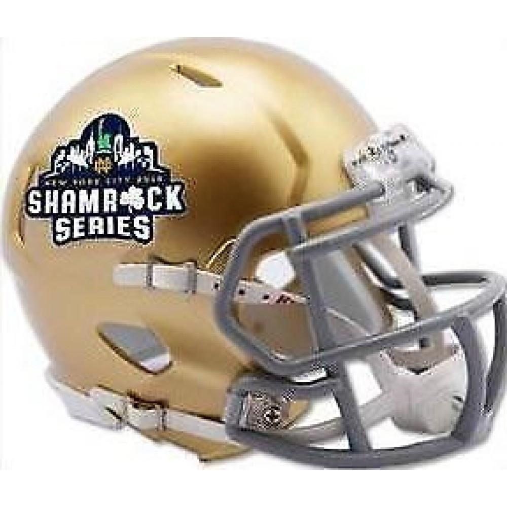 Riddell Notre Dame Fighting Irish 2018 Shamrock Series Speed Mini Helmet