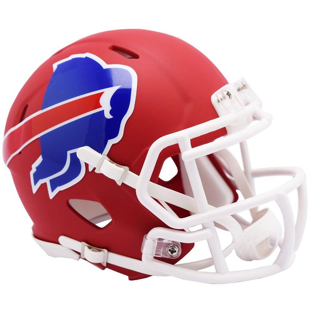 Buffalo Bills 2019 AMP Riddell Mini Speed Helmet