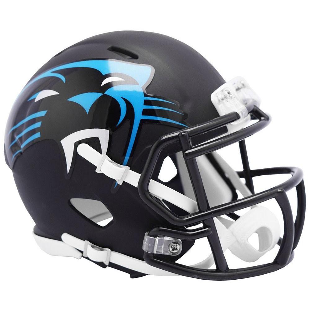 Carolina Panthers 2019 AMP Riddell Mini Speed Helmet