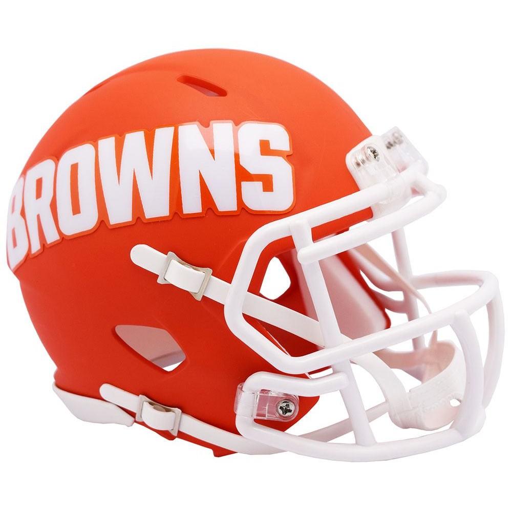 Cleveland Browns 2019 AMP Riddell Mini Speed Helmet