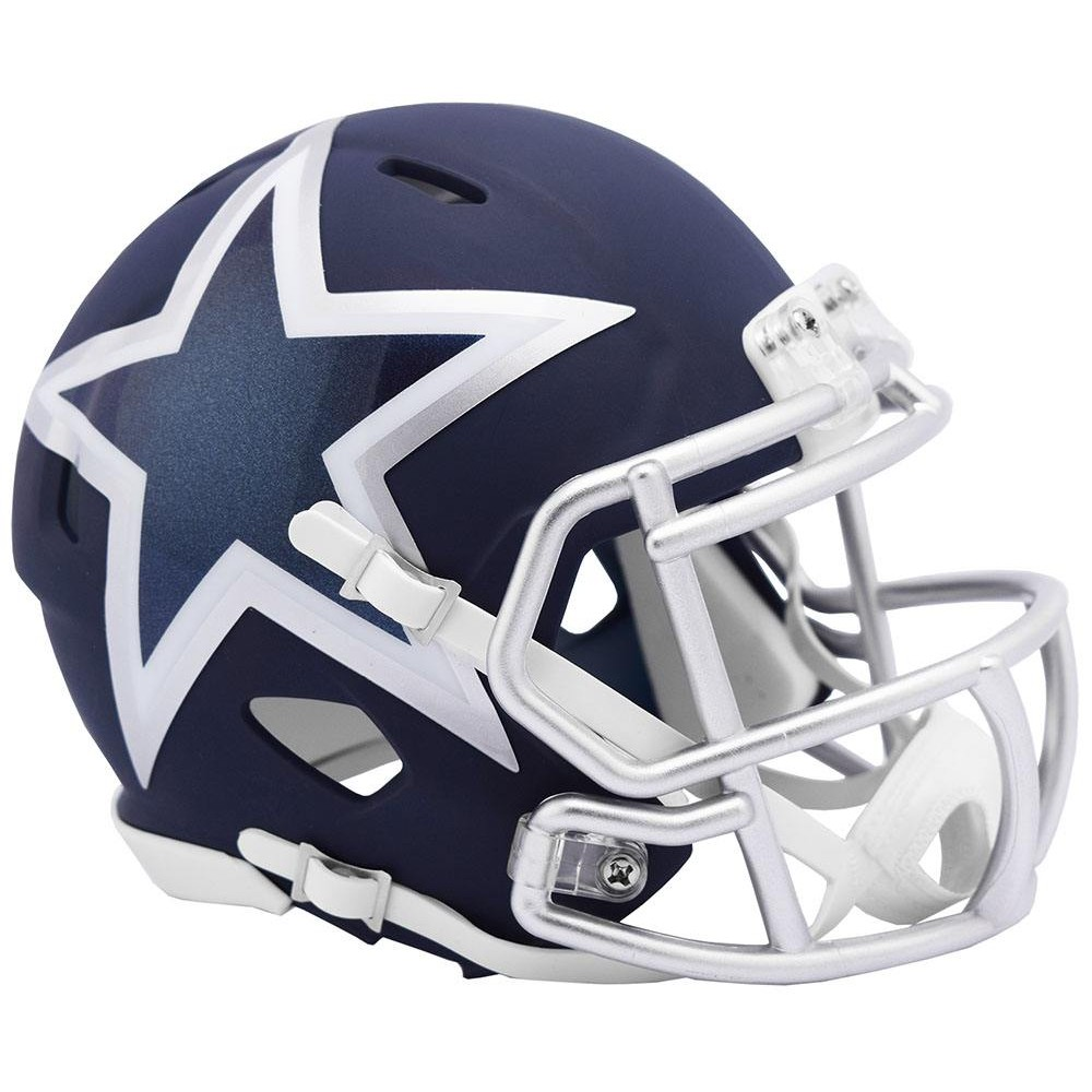 Dallas Cowboys 2019 AMP Riddell Mini Speed Helmet