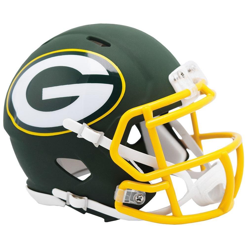 Green Bay Packers 2019 AMP Riddell Mini Speed Helmet