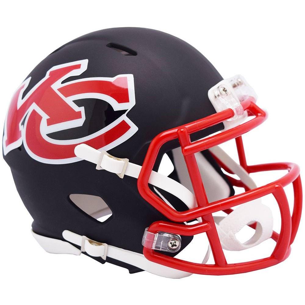 Kansas City Chiefs 2019 AMP Riddell Mini Speed Helmet