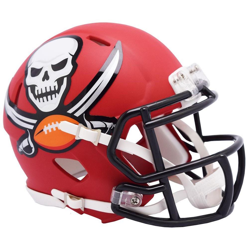 Tampa Bay Buccaneers 2019 AMP Riddell Mini Speed Helmet