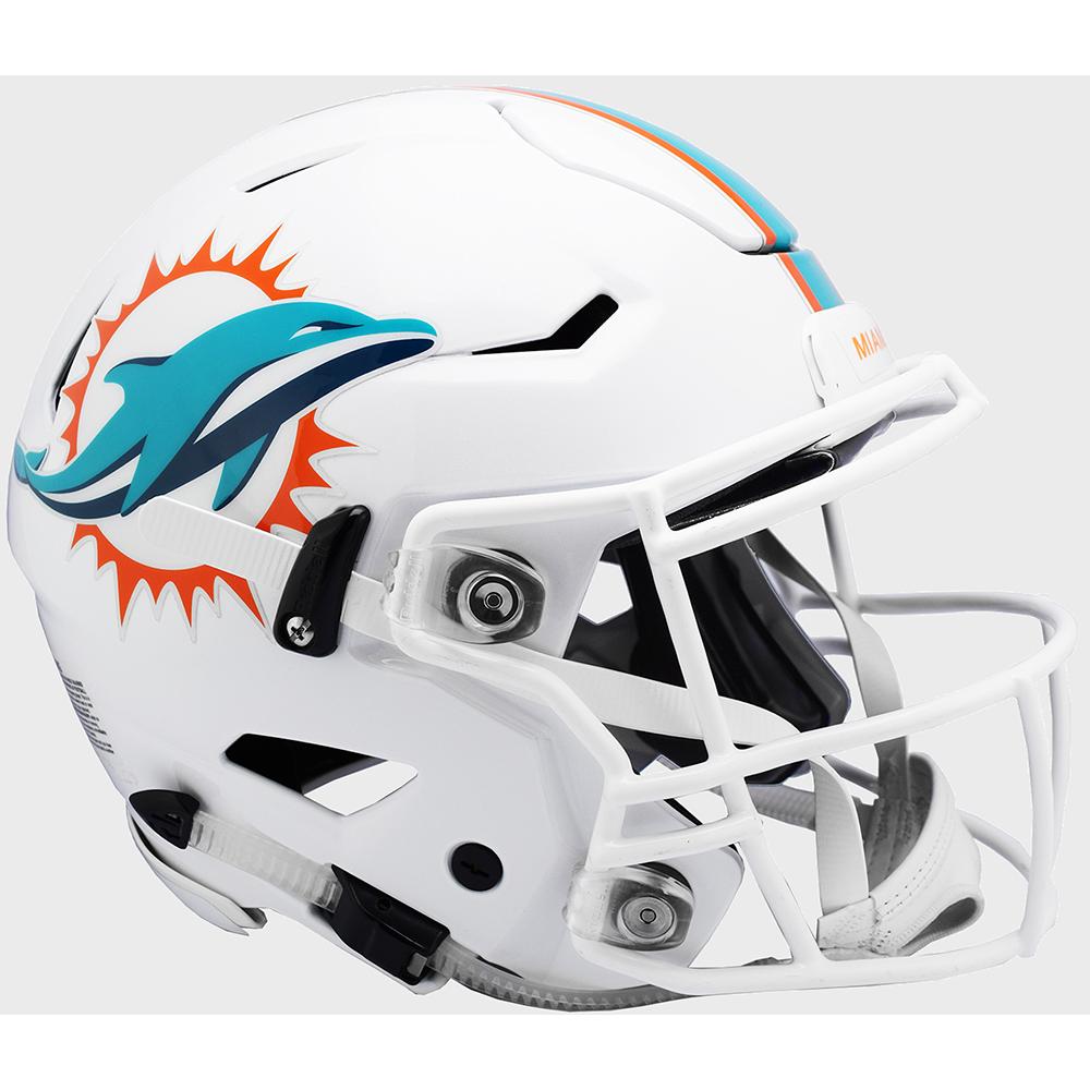 c3ec29d1 Miami Dolphins Riddell Full Size Authentic SpeedFlex Helmet