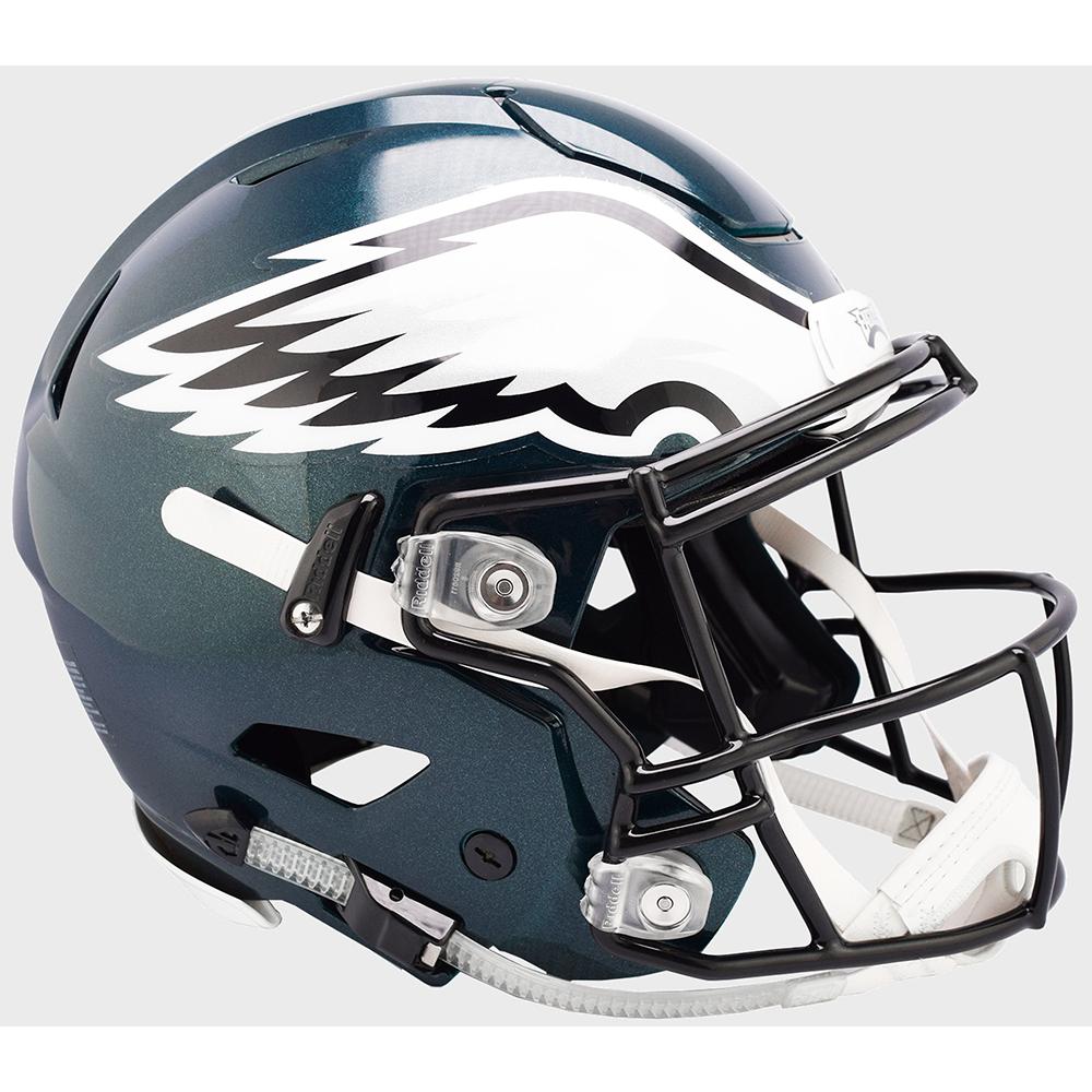 be8b20b9065 Riddell NFL Philadelphia Eagles Authentic SpeedFlex Full Size Football  Helmet ...