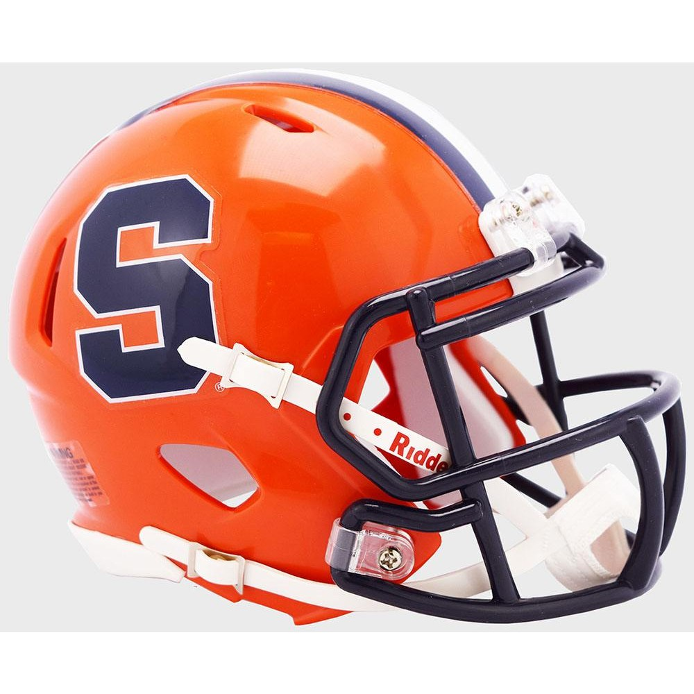 Riddell NCAA Syracuse Orangemen 2019 Speed Mini Football Helmet