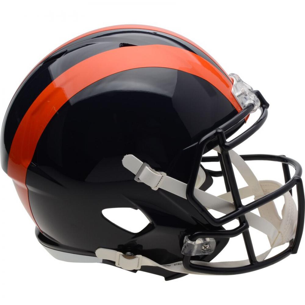 Chicago Bears 1936 Tribute Riddell Mini Speed Helmet