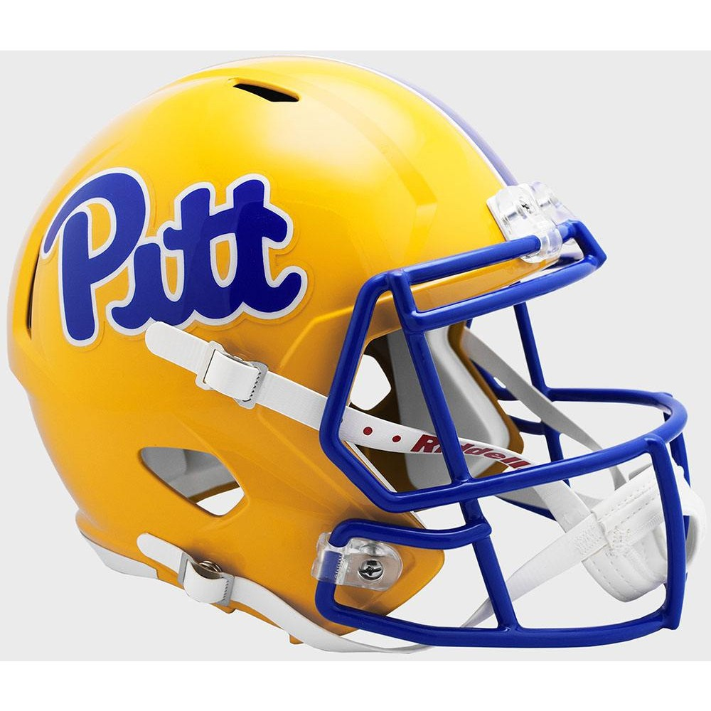 Pittsburgh Panthers 2019 Gold Riddell Full Size Replica Speed Helmet