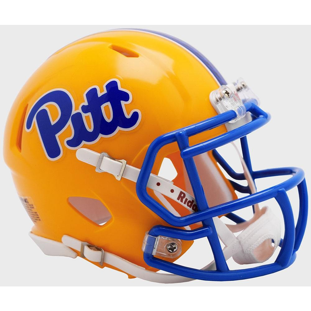 Pittsburgh Panthers 2019 Gold Riddell Mini Speed Helmet