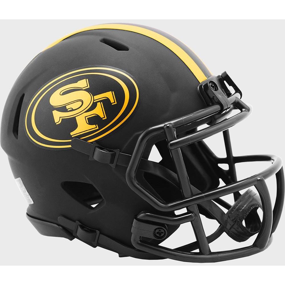 San Francisco 49ers 2020 Eclipse Riddell Mini Speed Helmet