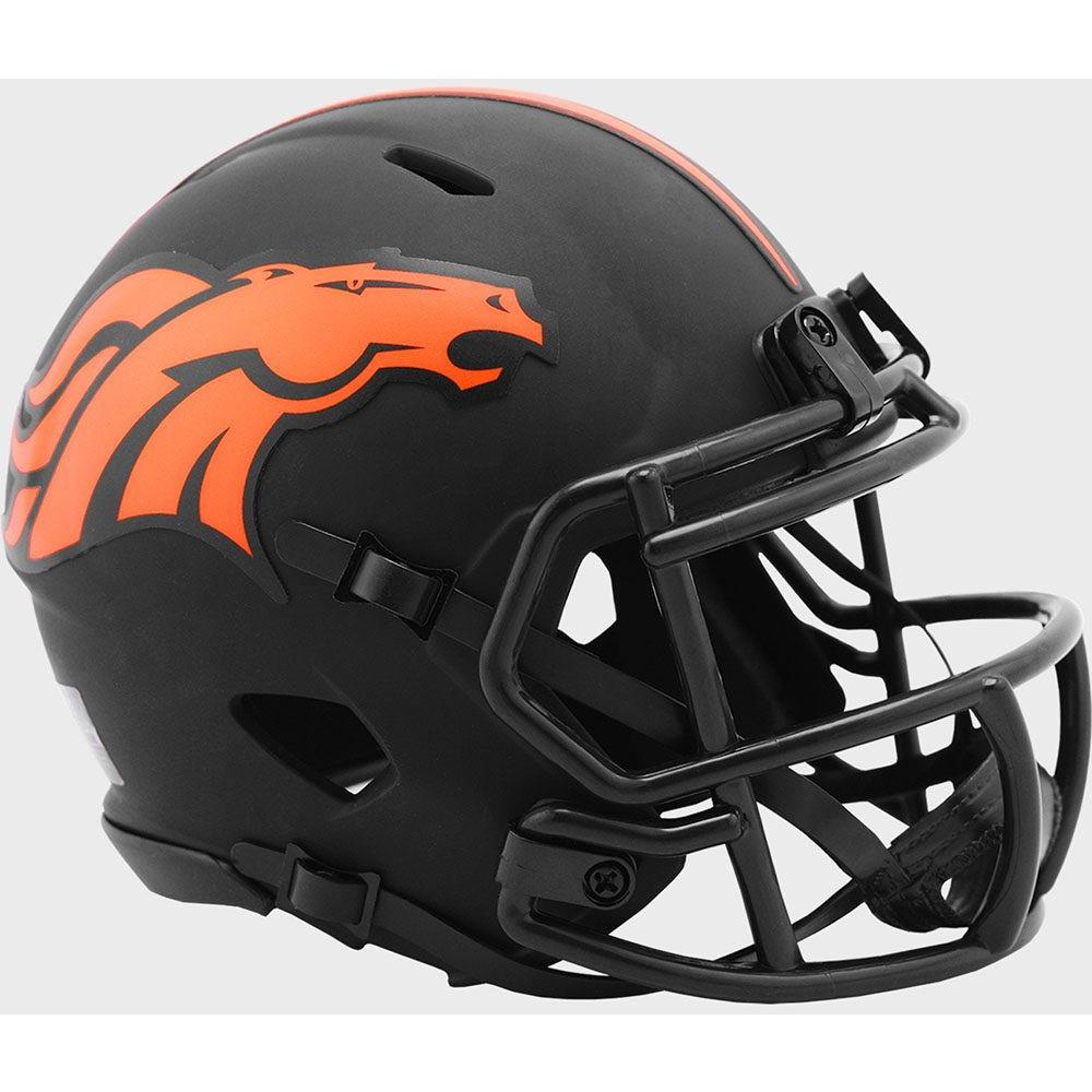 Denver Broncos 2020 Eclipse Riddell Mini Speed Helmet