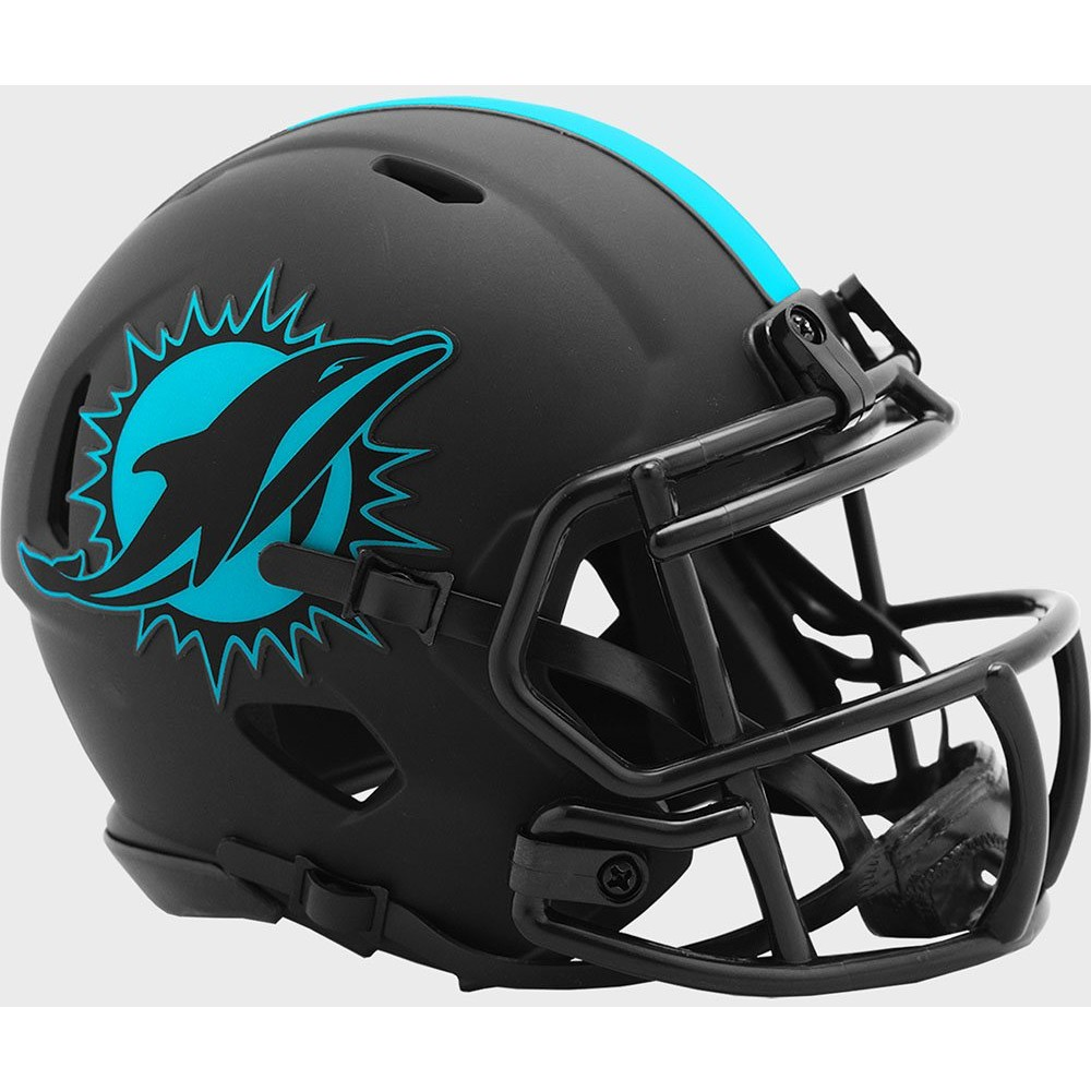 Miami Dolphins 2020 Eclipse Riddell Mini Speed Helmet