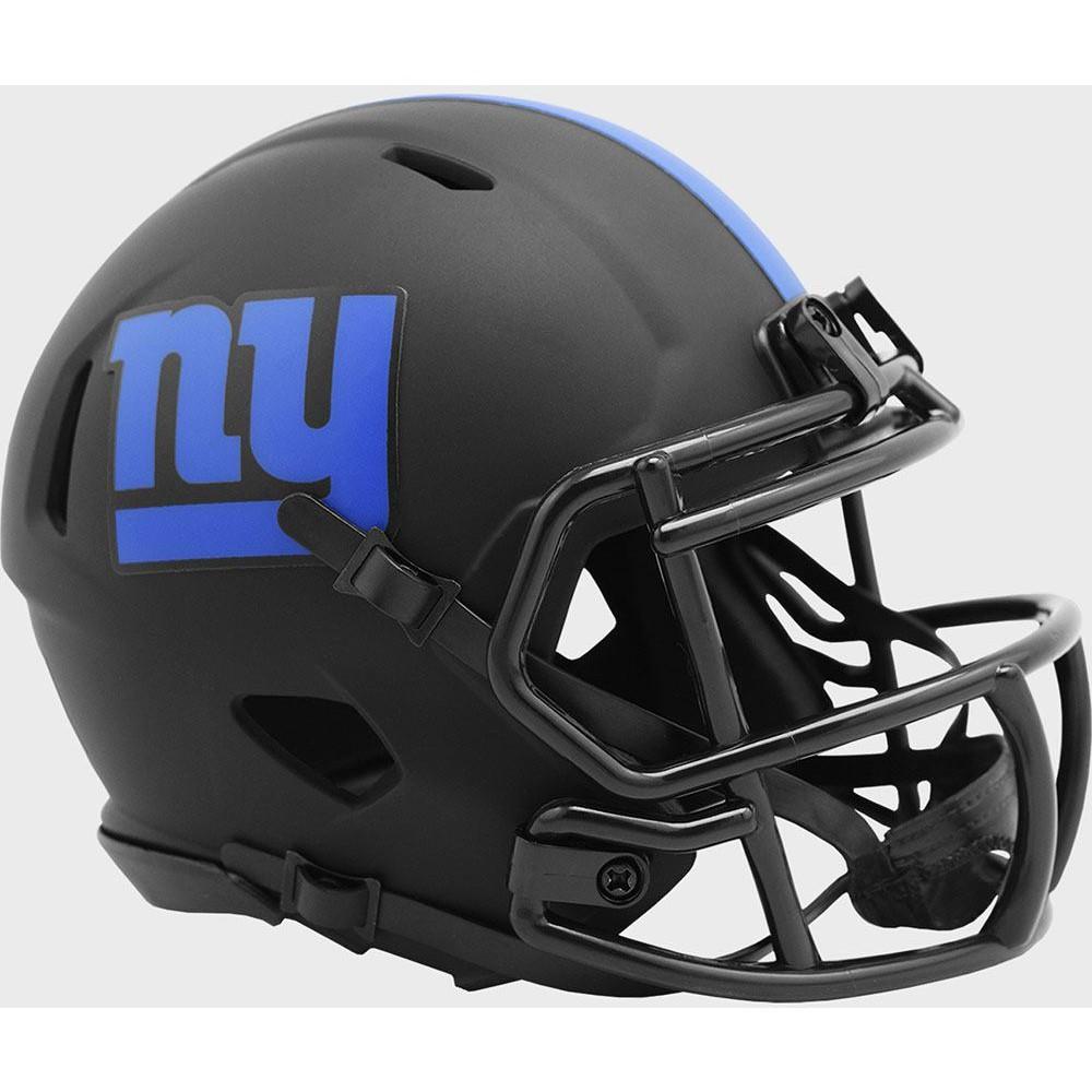New York Giants 2020 Eclipse Riddell Mini Speed Helmet