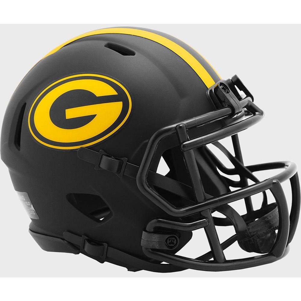 Green Bay Packers 2020 Eclipse Riddell Mini Speed Helmet