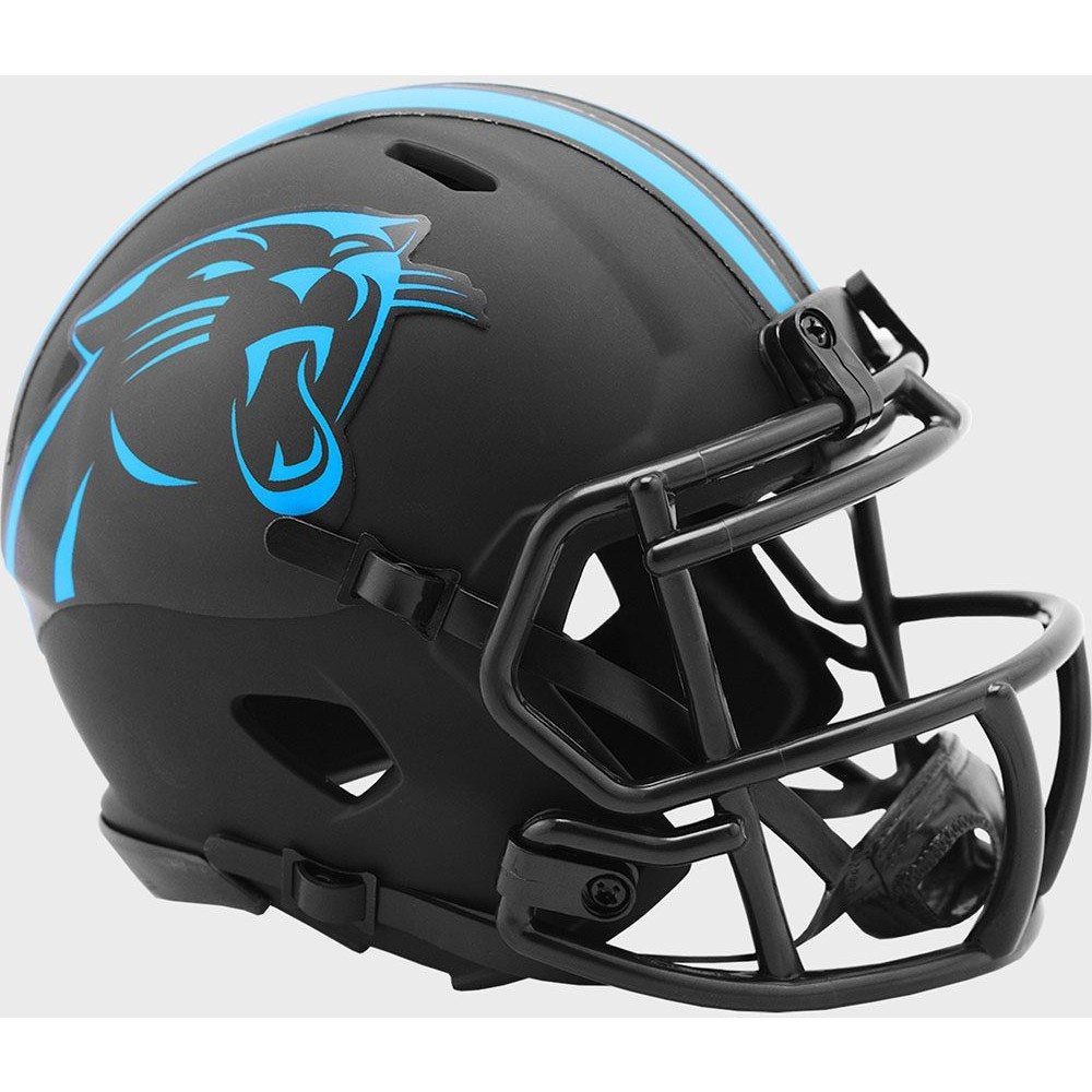 Carolina Panthers 2020 Eclipse Riddell Mini Speed Helmet