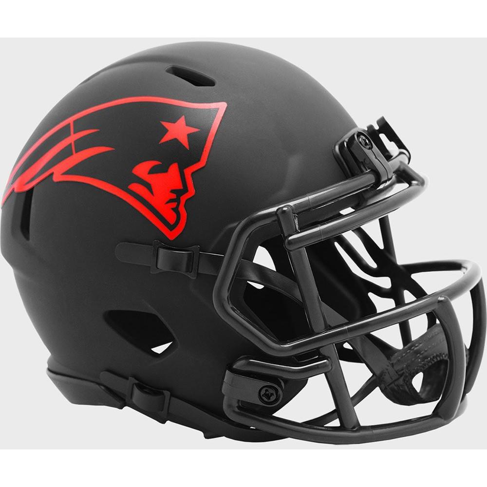 New England Patriots 2020 Eclipse Riddell Mini Speed Helmet