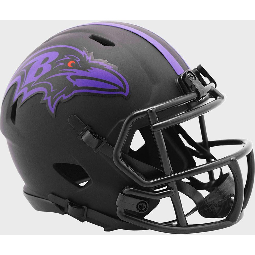 Baltimore Ravens 2020 Eclipse Riddell Mini Speed Helmet