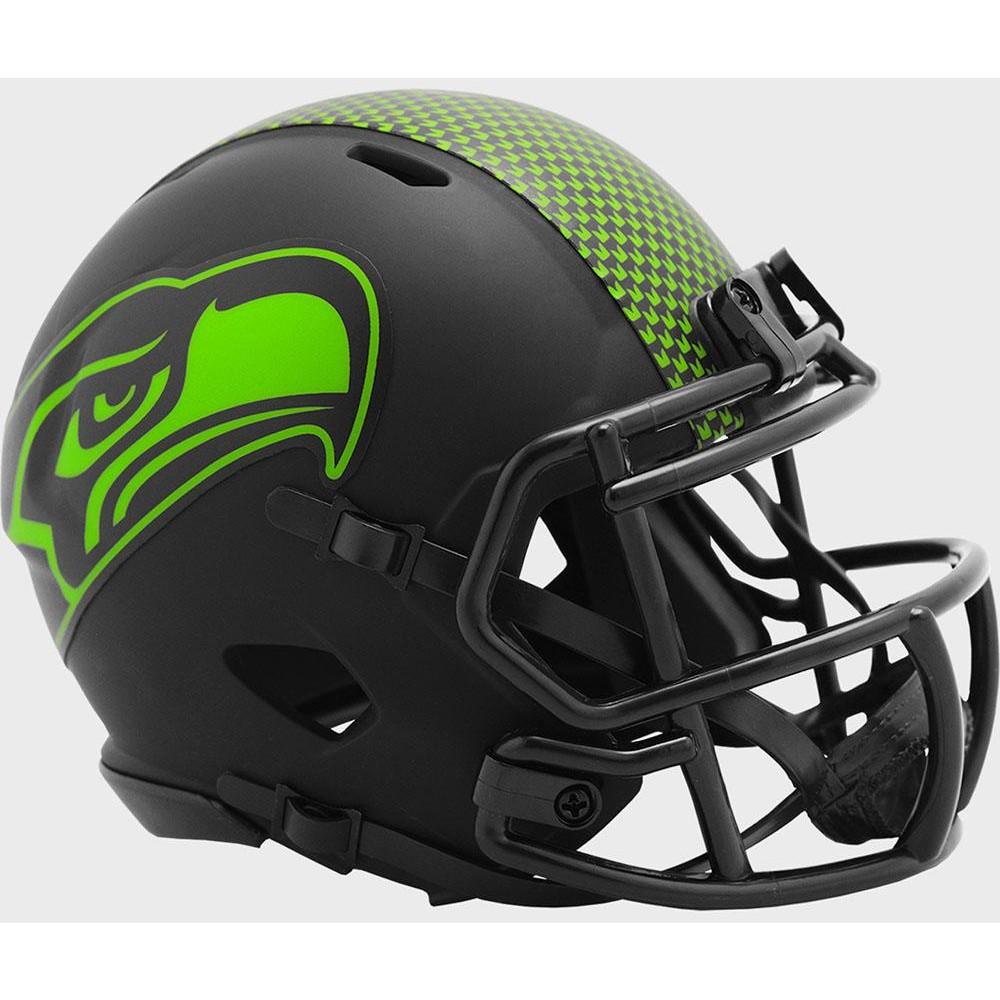 Seattle Seahawks 2020 Eclipse Riddell Mini Speed Helmet