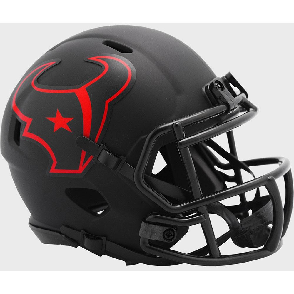 Houston Texans 2020 Eclipse Riddell Mini Speed Helmet