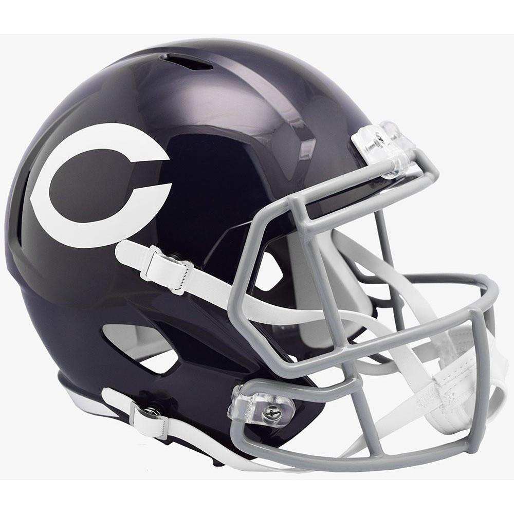 Chicago Bears 60 Classic Riddell Full Size Replica Speed Helmet