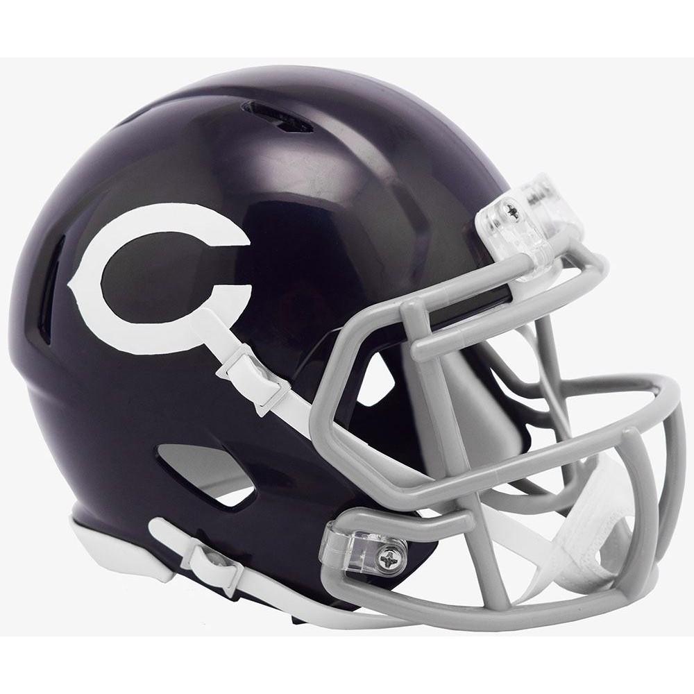 Chicago Bears 60 Classic Riddell Mini Speed Helmet