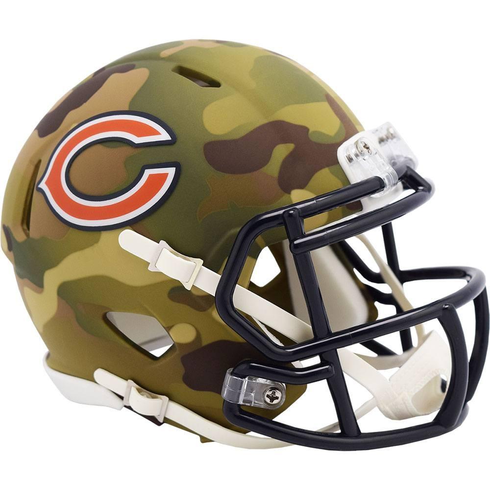 Chicago Bears 2020 Camo Riddell Mini Speed Helmet