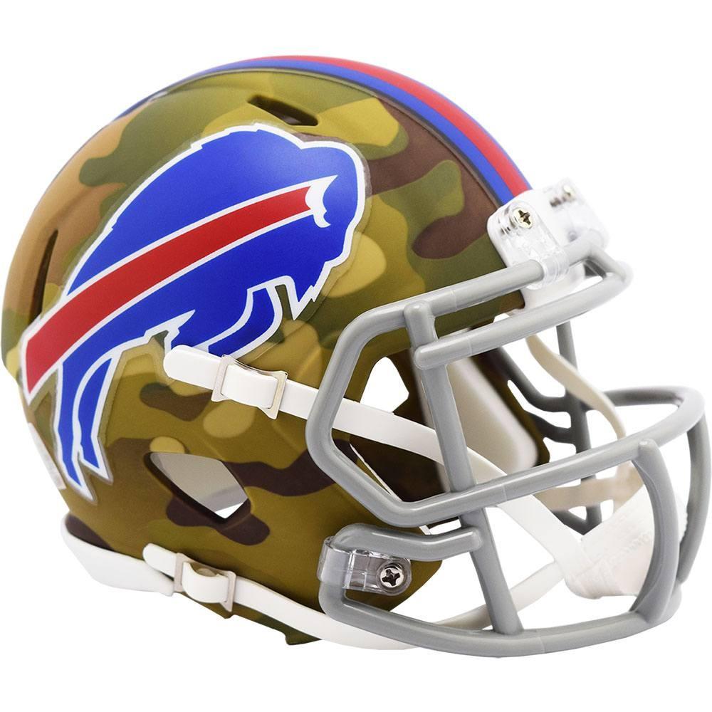 Buffalo Bills 2020 Camo Riddell Mini Speed Helmet