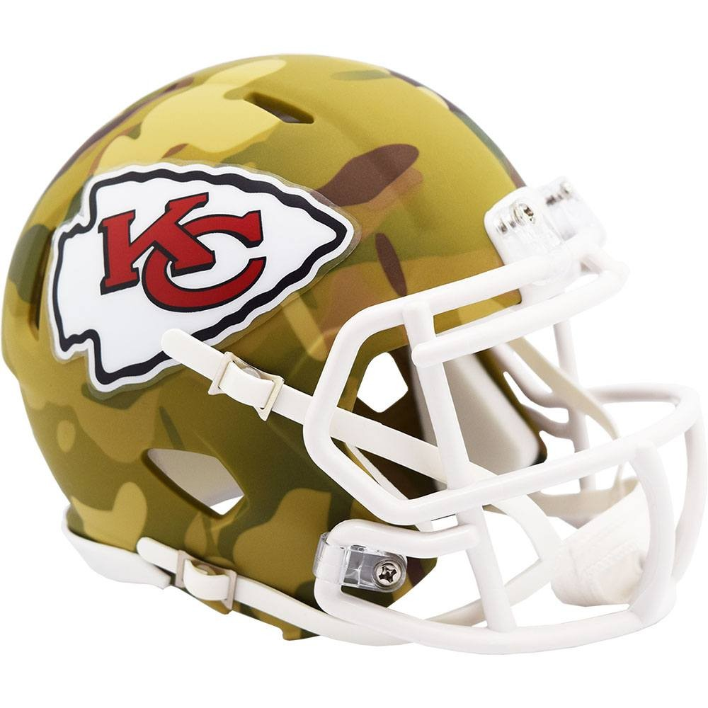 Kansas City Chiefs 2020 Camo Riddell Mini Speed Helmet