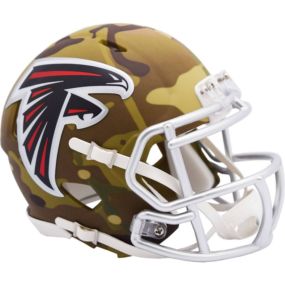 Atlanta Falcons 2020 Camo Riddell Mini Speed Helmet