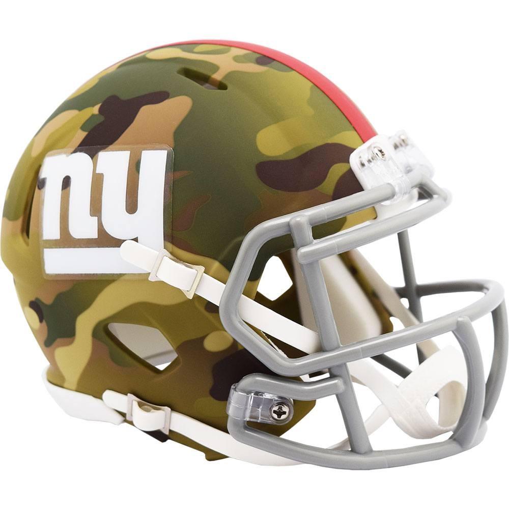 New York Giants 2020 Camo Riddell Mini Speed Helmet