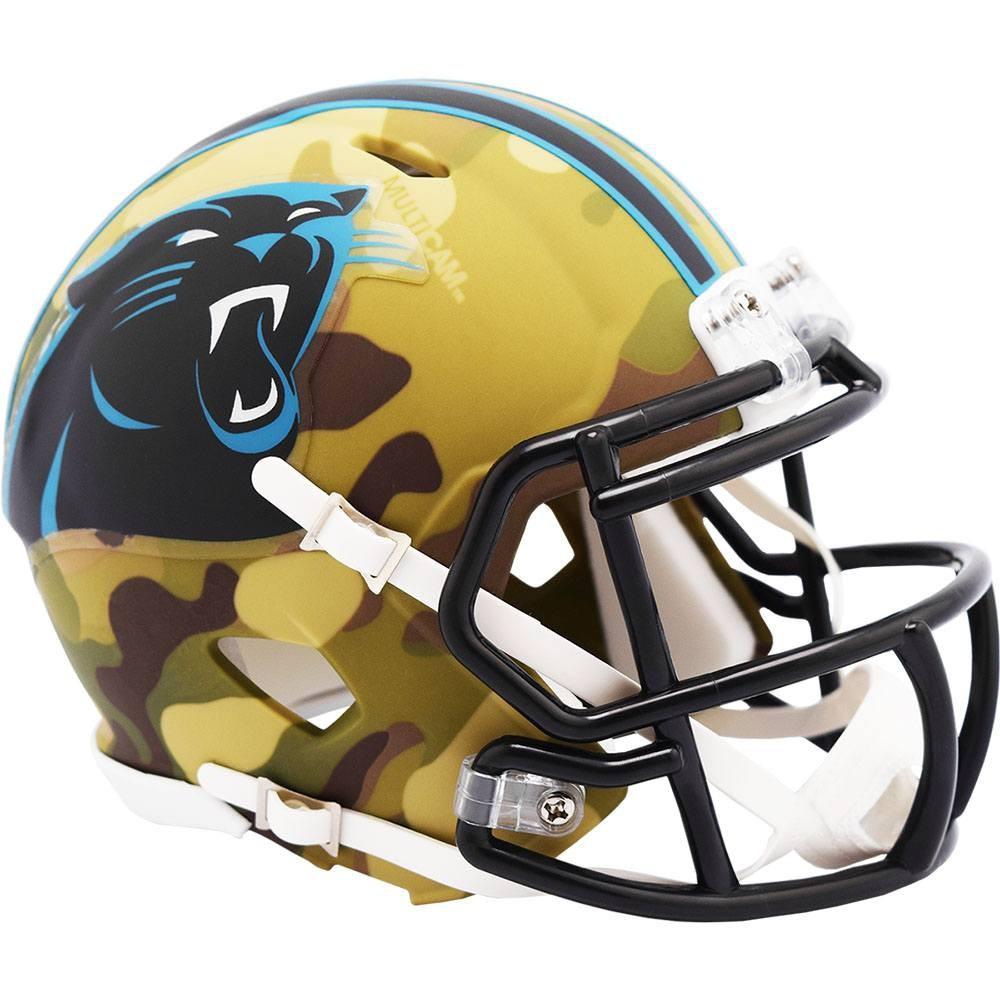 Carolina Panthers 2020 Camo Riddell Mini Speed Helmet