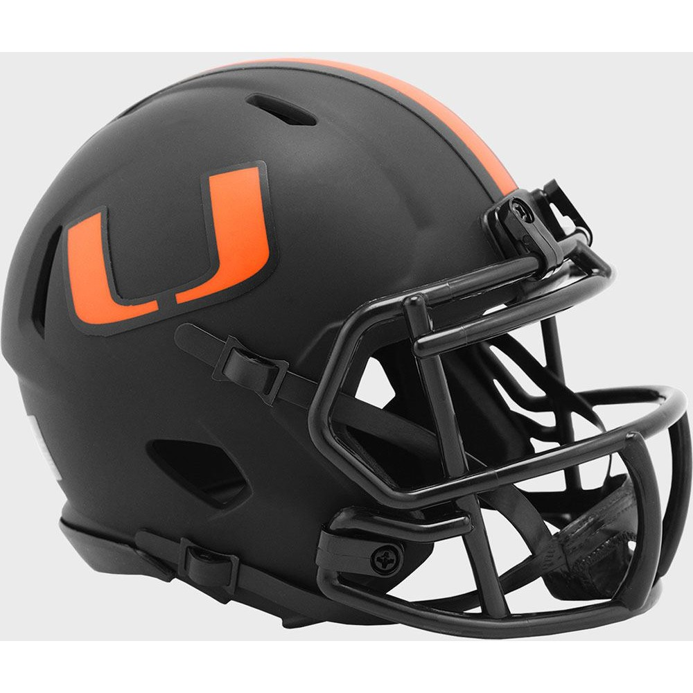 Miami Hurricanes 2020 Eclipse Riddell Mini Speed Helmet