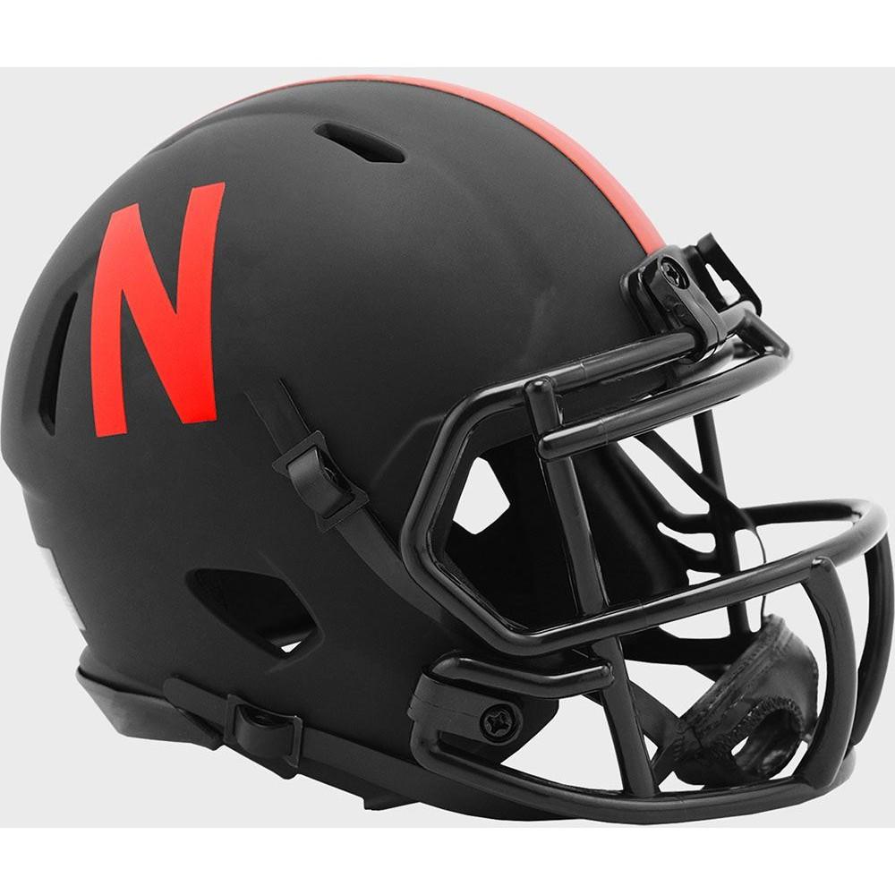 Nebraska Cornhuskers 2020 Eclipse Riddell Mini Speed Helmet
