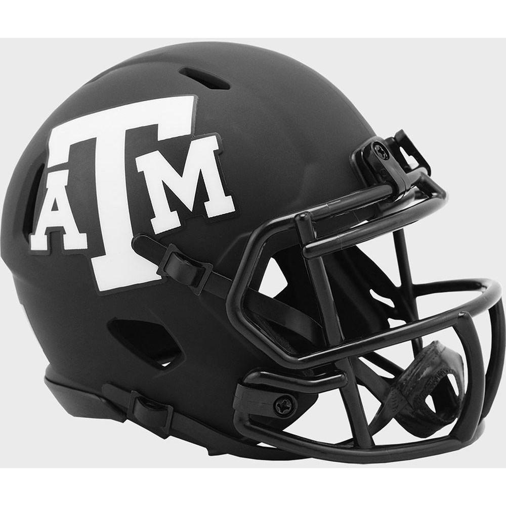 Texas A&M Aggies 2020 Eclipse Riddell Mini Speed Helmet