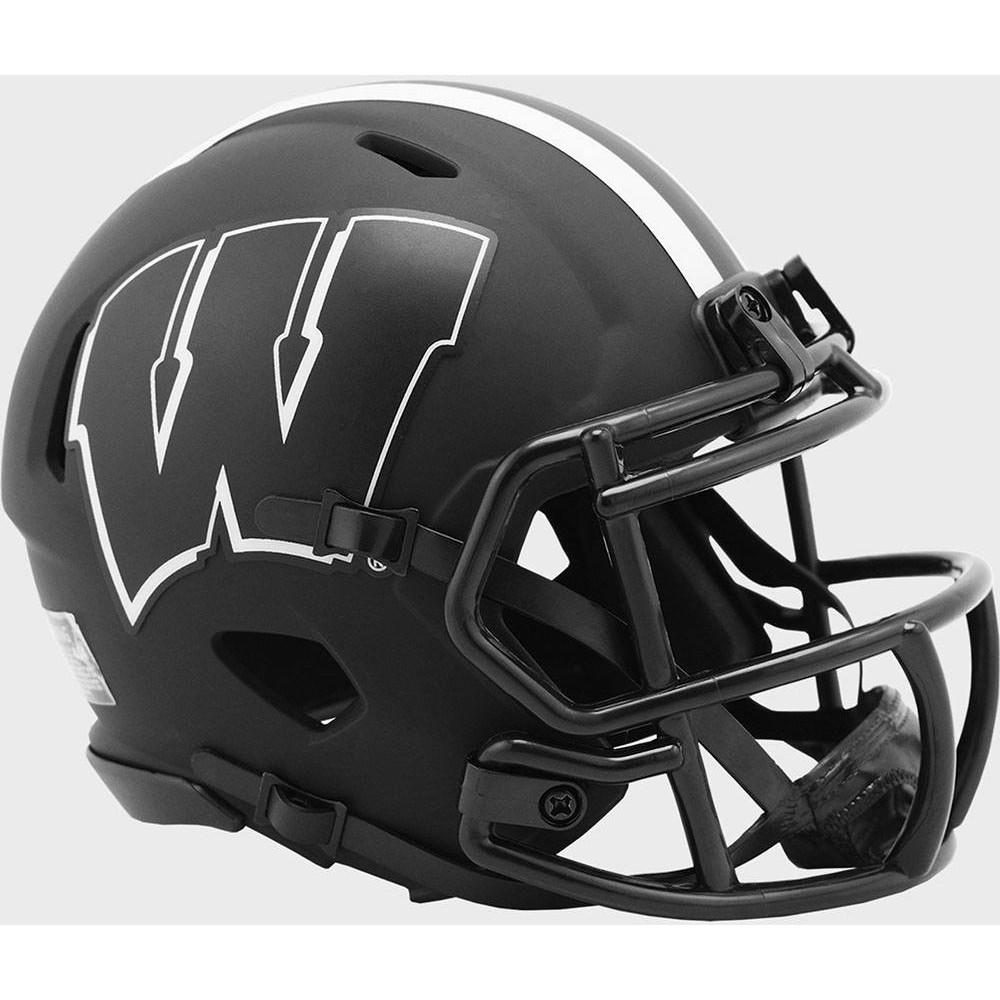 Wisconsin Badgers 2020 Eclipse Riddell Mini Speed Helmet