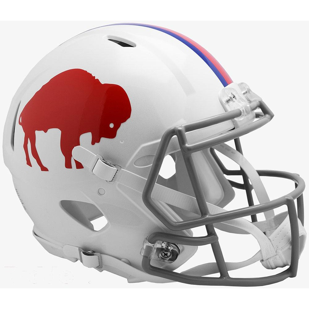 Buffalo Bills Classic Riddell Full Size Authentic Speed Helmet
