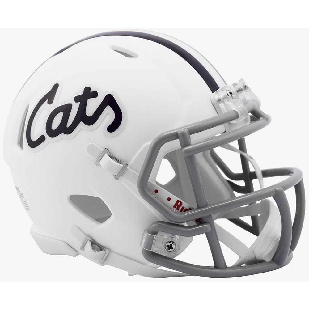 Riddell NCAA Kansas St Wildcats 2019 Cats Speed Mini Football Helmet