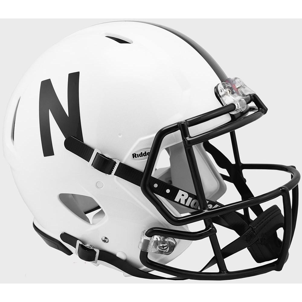 Nebraska Cornhuskers 2019 Alt Riddell Full Size Authentic Speed Helmet