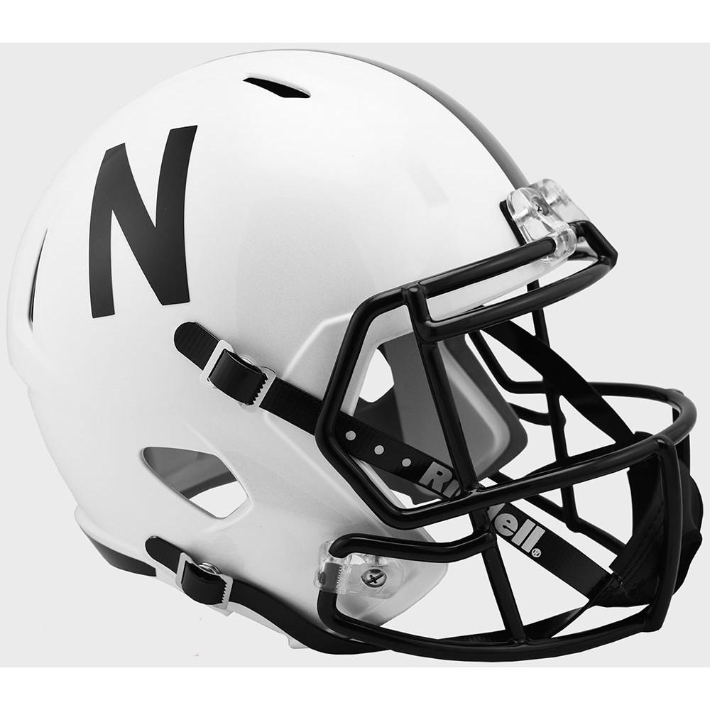 Riddell NCAA Nebraska Cornhuskers 2019 Alt Replica Speed Full Size Football Helmet