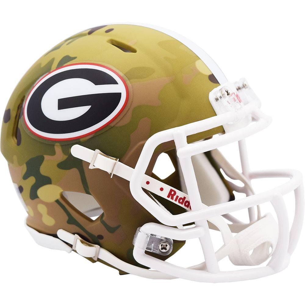 Georgia Bulldogs 2020 Camo Riddell Mini Speed Helmet