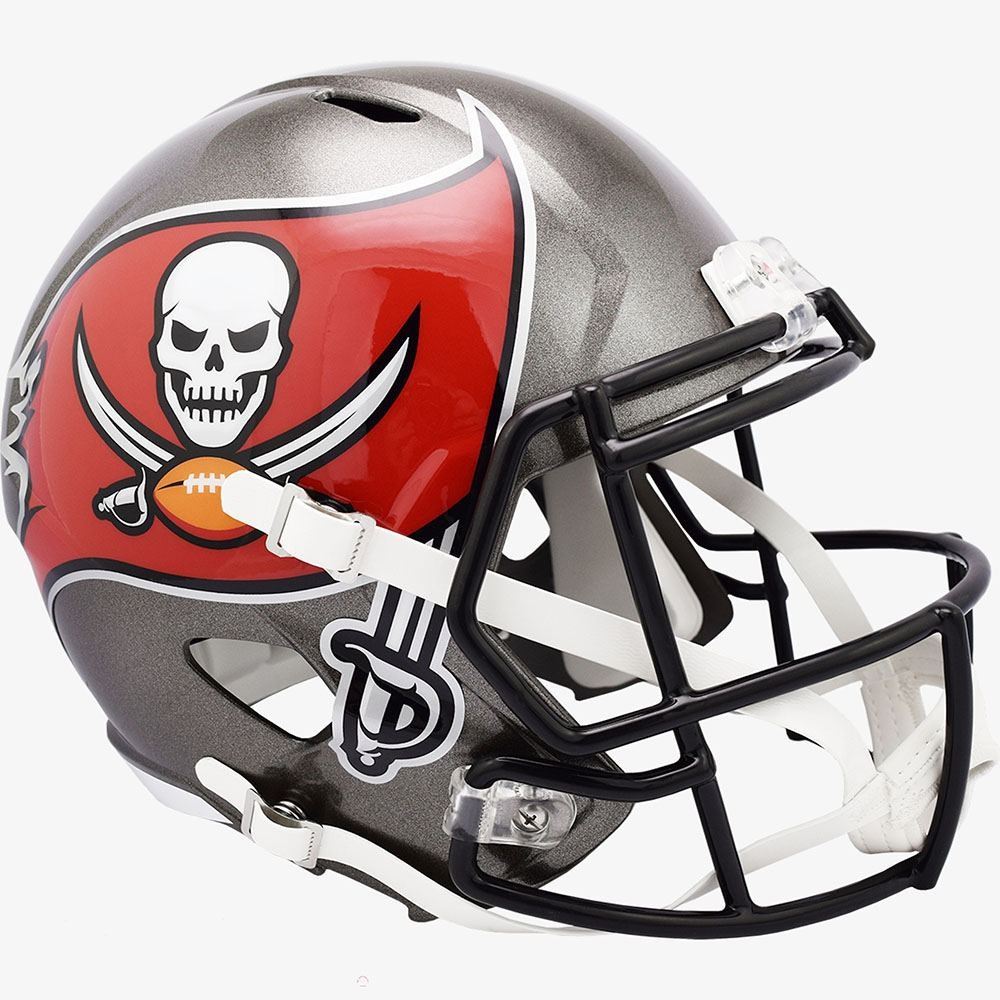 Tampa Bay Buccaneers 2020 Riddell Full Size Replica Speed Helmet
