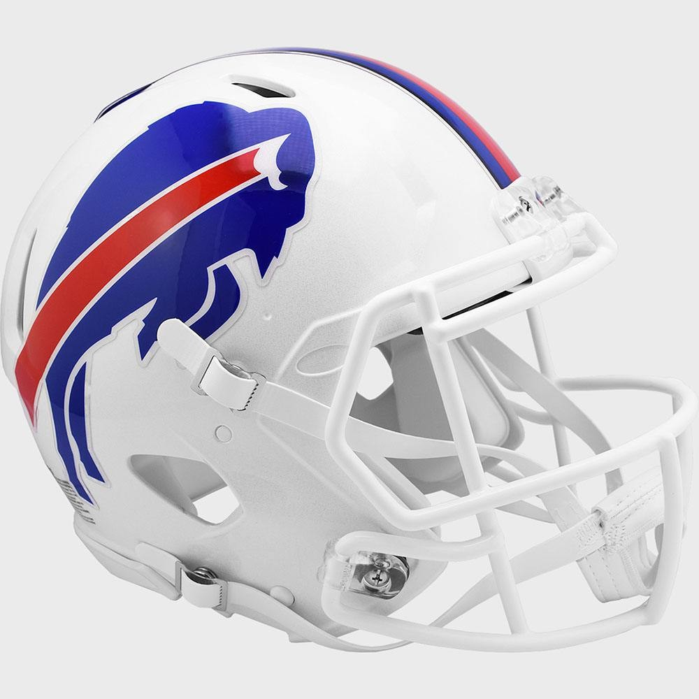 Buffalo Bills Riddell Full Size Replica Speed Helmet New 2021