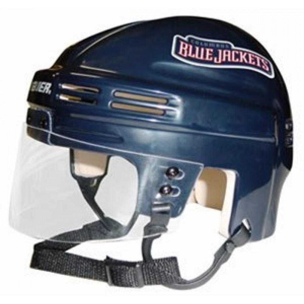 Columbus Blue Jackets Home Authentic Mini Helmet