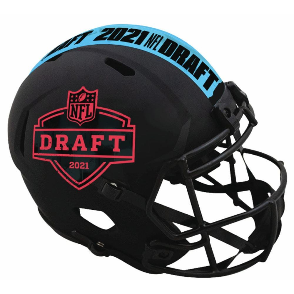 Limited Edition NFL Draft 2021 Matte Black Riddell Speed Helmets