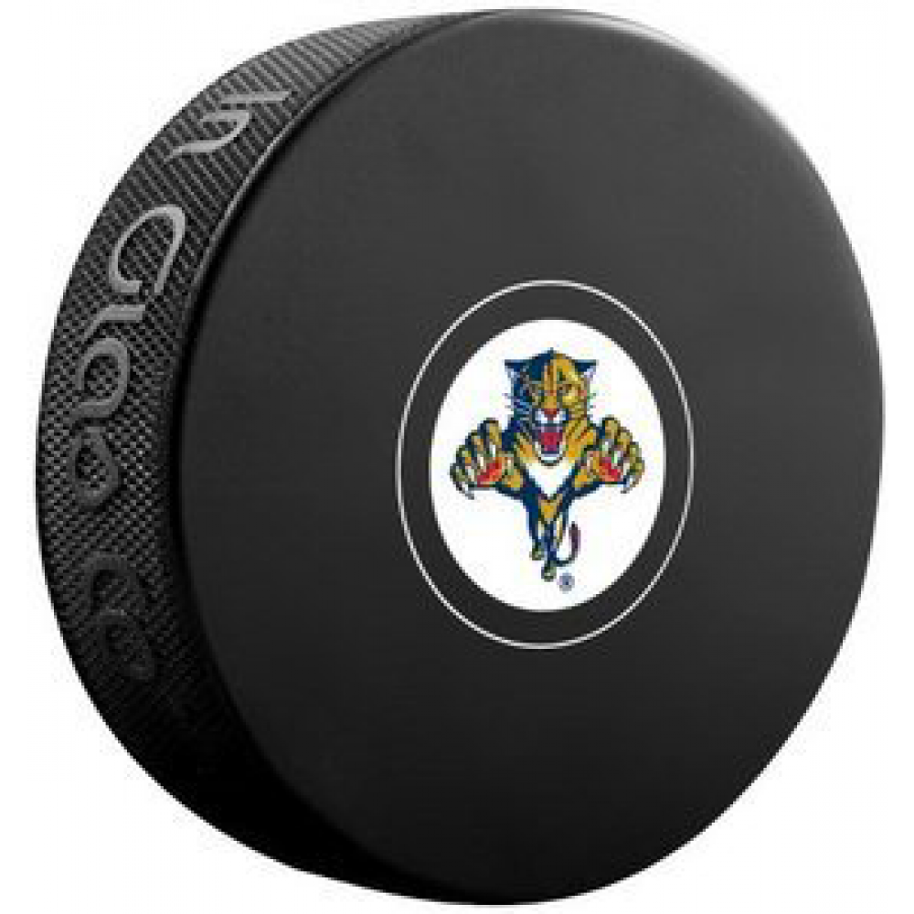 InGlasCo NHL Florida Panthers Autograph Souvenir Ice Hockey Puck