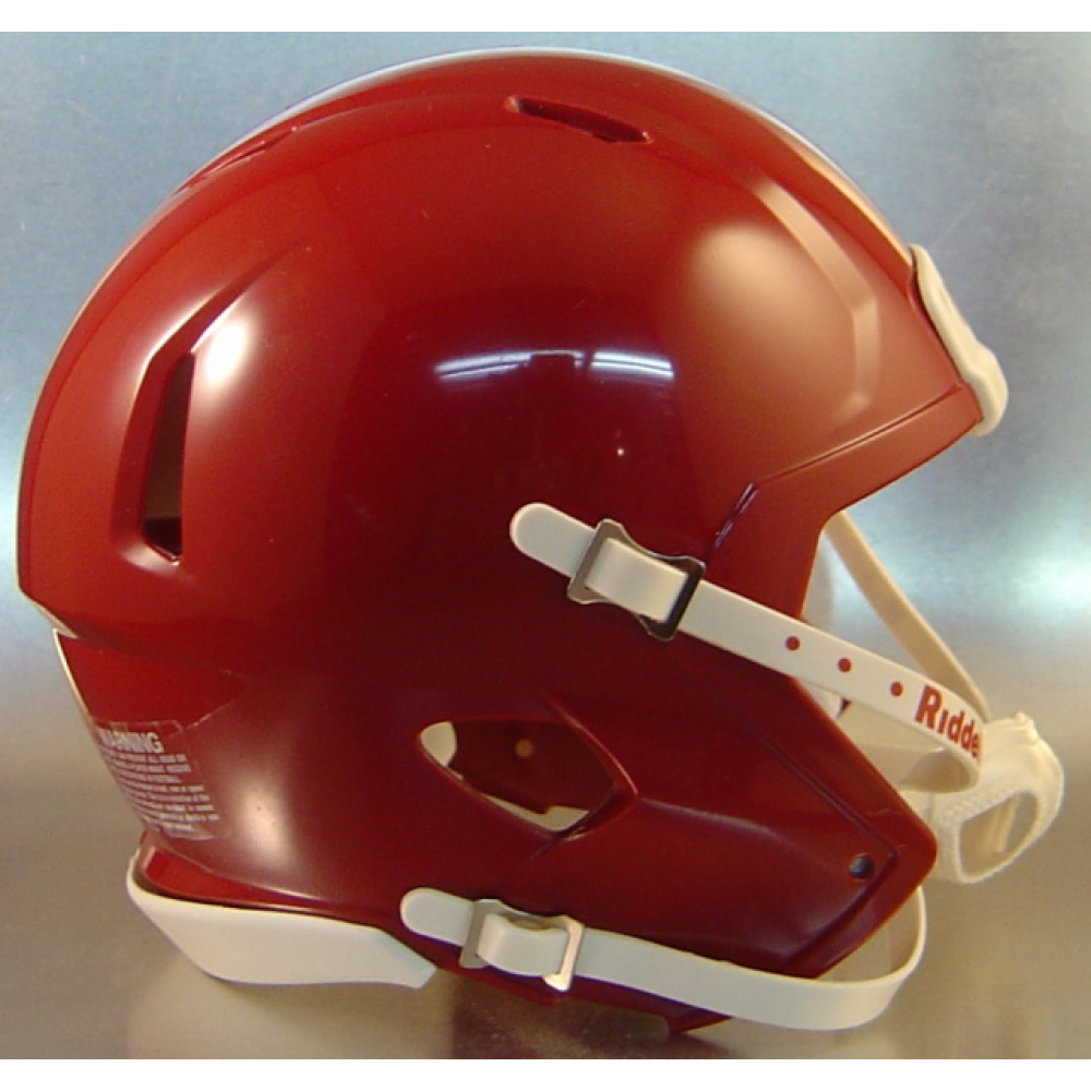 Nashville Sales Tax >> Riddell Cardinal Blank Customizable Speed Mini Football Helmet Shell