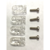 Riddell Customizable Speed Mini Clip (4ct) and Screw (4ct) Set